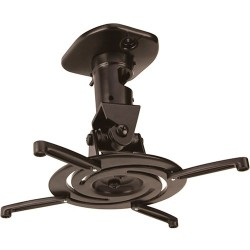 Amer Networks - AMRP100B - Amer Ceiling Mount for Projector - 30 lb Load Capacity - Black