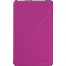 Amazon.com - B00ZGV2H18 - Amazon Carrying Case (Folio) for 7 Tablet - Magenta - Polyurethane - 4.5 Height x 7.5 Width x 0.4 Depth