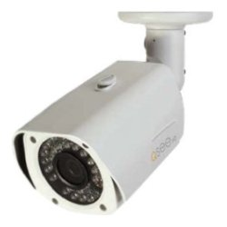 Q-See - QCN8033B - Q-See 3MP High Definition IP Bullet Security Camera (White) - 100 ft Night Vision - 2048x1536 - 3.60 mm - CMOS - 100ft Cat5e Network Cable