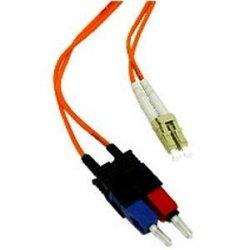 C2G (Cables To Go) - 33017 - C2G-4m LC-SC 50/125 OM2 Duplex Multimode PVC Fiber Optic Cable - Orange - Fiber Optic for Network Device - LC Male - SC Male - 50/125 - Duplex Multimode - OM2 - 4m - Orange