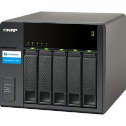 QNAP Systems - TX-500P-US - QNAP TX-500P Drive Enclosure Tower - 5 x HDD Supported - 5 x Total Bay - 5 x 2.5/3.5 Bay - Serial ATA/600 - Thunderbolt 2 - Cooling Fan