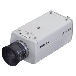 Toshiba - IK-6420A - Toshiba IK-6420A Day/Night Security Camera - Color - CCD - Cable