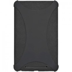 Amzer - 94381 - Amzer Silicone Skin Jelly Case - Black - Tablet - Black - Silicone, Jelly