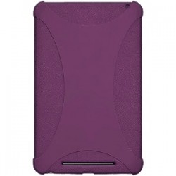 Amzer - 94383 - Amzer Silicone Skin Jelly Case - Purple - Tablet - Purple - Silicone, Jelly
