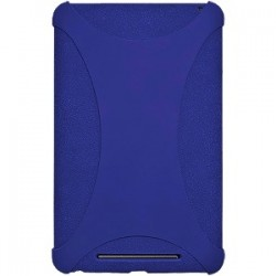 Amzer - 94384 - Amzer Silicone Skin Jelly Case - Blue - Tablet - Blue - Silicone, Jelly