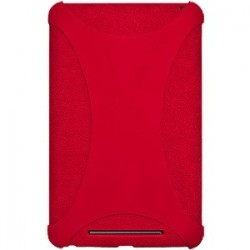 Amzer - 94385 - Amzer Silicone Skin Jelly Case - Red - Tablet - Red - Silicone, Jelly
