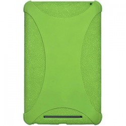 Amzer - 94386 - Amzer Silicone Skin Jelly Case - Green - Tablet - Green - Silicone, Jelly