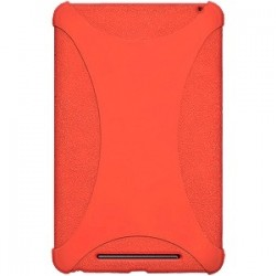 Amzer - 94387 - Amzer Silicone Skin Jelly Case - Orange - Tablet - Orange - Silicone, Jelly