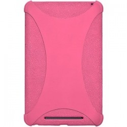 Amzer - 94389 - Amzer Silicone Skin Jelly Case - Baby Pink - Tablet - Baby Pink - Silicone, Jelly
