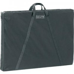 Da-Lite - 43211 - Da-Lite Carrying Case for Paperwork, Accessories - Black - Nylon - 29 Height x 3.8 Width x 42 Depth