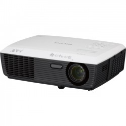 Ricoh - 432117 - Ricoh PJ X2340 3D Ready DLP Projector - 4:3 - Ceiling, Front, Rear - HPM - 190 W - 4500 Hour Normal Mode - 6000 Hour Economy Mode - 1024 x 768 - XGA - 2200:1 - 3000 lm - HDMI - 266 W