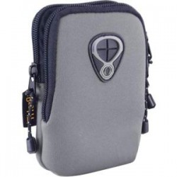 Inland Products - 02519 - Inland Carrying Case for Camera - Gray - Wear Resistant Interior, Tear Resistant Interior - Neoprene
