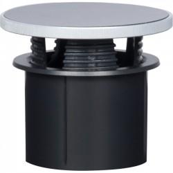 AMX - FG570-02S-GS - AMX 2 Grommet - Grommet - Gloss Silver, Silver Metal - 1.57 Internal Diameter