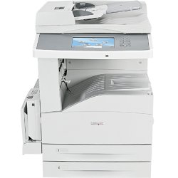 """Lexmark - 19Z4029 - Lexmark X860DE 4 Laser Multifunction Printer - Monochrome - Plain Paper Print - Desktop - Copier/Fax/Printer/Scanner - 35 ppm Mono Print - 1200 x 1200 dpi Print - 35 cpm Mono Copy - 9"""" Touchscreen - 600 dpi Optical Scan - Automatic"""