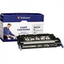 Verbatim / Smartdisk - 95476 - Verbatim Remanufactured Laser Toner Cartridge alternative for HP Q6470A Black - Black - Laser - 6000 Page - OEM
