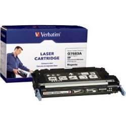 Verbatim / Smartdisk - 95478 - Verbatim Remanufactured Laser Toner Cartridge alternative for HP Q7583A Magenta - Magenta - Laser - 6000 Page - OEM