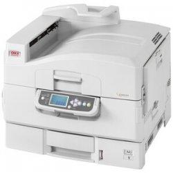 Okidata - 62430604 - Oki C9650N LED Printer - Color - 40 ppm Mono - 36 ppm Color - 1200 x 600 dpi - USB, Parallel, Network - Gigabit Ethernet - PC, Mac