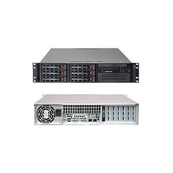 Supermicro - SYS-5025B-TB - Supermicro SuperServer 5025B-TB Barebone System - Intel 3210 - LGA775 Socket - Xeon (Quad-core), Xeon (Dual-core) - 1333MHz, 1066MHz, 800MHz Bus Speed - 8GB Memory Support - Gigabit Ethernet, Gigabit Ethernet - 2U Rack
