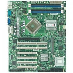 Supermicro - X7SBA - Supermicro X7SBA Desktop Motherboard - Intel 3210 Chipset - Socket T LGA-775 - ATX - 1 x Processor Support - 8 GB DDR2 SDRAM Maximum RAM - 800 MHz Memory Speed Supported - 4 x Memory Slots - Floppy Controller, Serial ATA/300 -