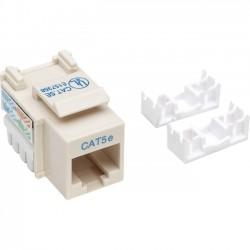 IntelliNet - 210188 - Intellinet Network Solutions Cat5e Keystone Jack - UTP, Ivory, Punch-down