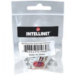 IntelliNet - 210607 - Intellinet Cat6 Keystone Jack - 1 x RJ-45 Female - Ivory