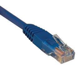 Tripp Lite - N002-015-BL - Tripp Lite 15ft Cat5e / Cat5 350MHz Molded Patch Cable RJ45 M/M Blue 15' - Category 5e - 15ft - 1 x RJ-45 Male Network - 1 x RJ-45 Male Network - Blue