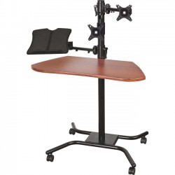 Best-Rite / MooreCo - 66641 - Balt Mounting Arm for Tablet, Notebook - Steel - Black