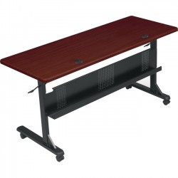 Best-Rite / MooreCo - 89879M - Balt Flipper Conference Table - Rectangle Top - 60 Table Top Width x 24 Table Top Depth - 29.50 Height - Assembly Required