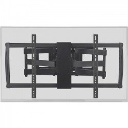 Monoprice - 12986 - Monoprice 12986 Mounting Bracket for TV - 100 Screen Support - 178 lb Load Capacity - Black