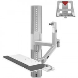 Humanscale - VF36-SCXX-12517 - Humanscale V/Flex Wall Mount for CPU, Cradle