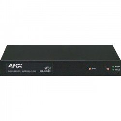 AMX - FGN4321-SA - AMX NMX-ATC-N4321 Audio over IP Transceiver - 2 Input Device - 2 Output Device - 2 x Network (RJ-45) - Twisted Pair - Standalone, Surface-mountable, Wall Mountable, Rack-mountable