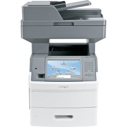 Lexmark - 16M1844 - Lexmark X654DE Multifunction Printer - Monochrome - 55 ppm Mono - 1200 x 1200 dpi - Fax, Scanner, Copier, Printer