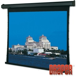 Draper - 101640SCL - Draper Premier Electric Projection Screen - 123 - 16:10 - Wall/Ceiling Mount - 65 x 104 - ClearSound NanoPerf XT800V