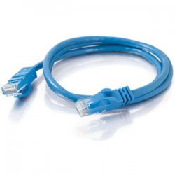C2G (Cables To Go) - 22801 - C2G 3ft Cat6 Snagless Unshielded (UTP) Network Patch Cable (USA-Made) - Blue - Category 6 for Network Device - RJ-45 Male - RJ-45 Male - USA-Made - 3ft - Blue