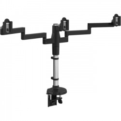 Humanscale - MF23B909C18P - Humanscale M/Flex Clamp Mount for Monitor - Black