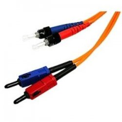 C2G (Cables To Go) - 10999 - C2G 20m SC-ST 62.5/125 OM1 Duplex Multimode PVC Fiber Optic Cable - Orange - ST Male - SC Male - 65.62ft - Orange