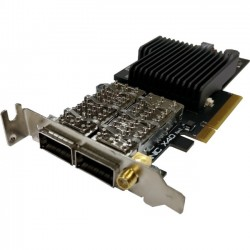Exablaze - EXANICX40 - Exablaze Sub-Micro TCP Half RTT 10/40GBE Network Interface Card - PCI Express 3.0 x8 - 2 Port(s) - Optical Fiber