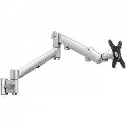 Atdec - SWS6S - Systema SWS6S Mounting Arm for Flat Panel Display, Touchscreen Monitor - 17.64 lb Load Capacity - Steel, Plastic, Aluminum - Matte Silver