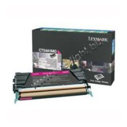 Lexmark - C734A4CG - Lexmark Toner Cartridge - Laser - 6000 Pages - Cyan - 1 / Pack