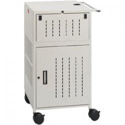 Bretford - TCP23FF-GM - Bretford Basics PAL TCP23FF Multimedia Presentation Cart - 5 x Shelf(ves) - 41.8 Height x 25.5 Width x 22.8 Depth - Steel - Mist Gray