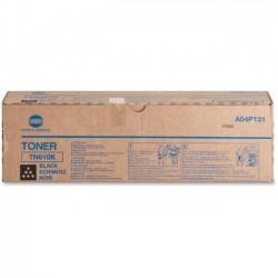Konica-Minolta - A04P131 - Konica Minolta TN-610K Original Toner Cartridge - Laser - High Yield - 35000 Pages - Black - 1 Each