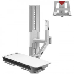 Humanscale - VF36-SAXX-22004 - Humanscale V/Flex Wall Mount for CPU, Cradle, Monitor - 6 lb Load Capacity