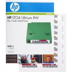 Hewlett Packard (HP) - Q2009A - HP RW Bar Code Label - 1 Pack