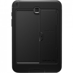 Griffin Technology - GB41829 - Griffin Survivor Slim for Galaxy Tab A 8.0 - Tablet - Black - Textured - Polycarbonate, Silicone - 79.20 Drop Height