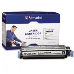 Verbatim / Smartdisk - 96760 - Verbatim Remanufactured Laser Toner Cartridge alternative for HP Q6460A Black - Laser - Black