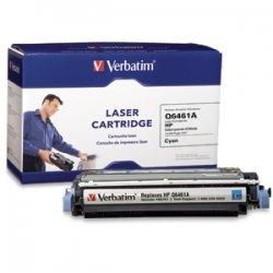 Verbatim / Smartdisk - 96761 - Verbatim Remanufactured Laser Toner Cartridge alternative for HP Q6461A Cyan - Laser - Cyan