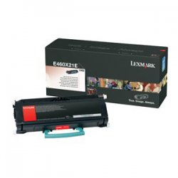 Lexmark - E460X21A - Lexmark Extra High Yield Toner Cartridge - Laser - 15000 Page - 1 Each