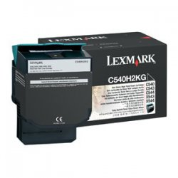 Lexmark - C540H2KG - Lexmark Original Toner Cartridge - Laser - 2500 Pages - Black - 1 Each