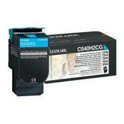 Lexmark - C540H2CG - Lexmark High Capacity Cyan Toner Cartridge - Laser - 2000 Page - 1 Each