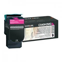 Lexmark - C540H2MG - Lexmark High Capacity Magenta Toner Cartridge - Laser - 2000 Page - 1 Each